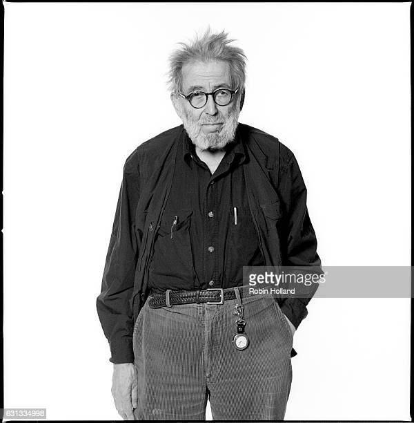 Journalist Nat Hentoff photographed for the Village Voice in 2007 in New York City