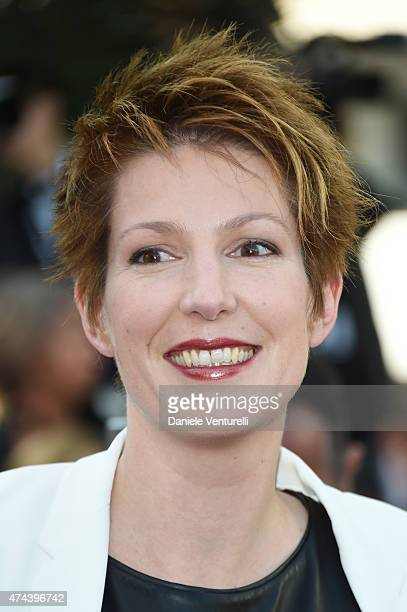 Journalist Natacha Polony attends the Premiere of 'The Little Prince' during the 68th annual Cannes Film Festival on May 22 2015 in Cannes France