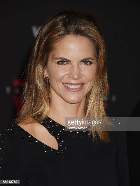 Journalist Natalie Morales attends the premiere of Disney Pictures and Lucasfilm's 'Star Wars The Last Jedi' at The Shrine Auditorium on December 9...