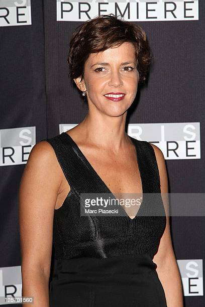 Journalist Nathalie Renoux attends the Paris Premiere 25th Anniversary Celebration at Grand Palais on September 20 2011 in Paris France