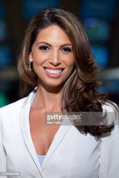 Journalist Nicole Petallides Of Fox Business Network Reports From