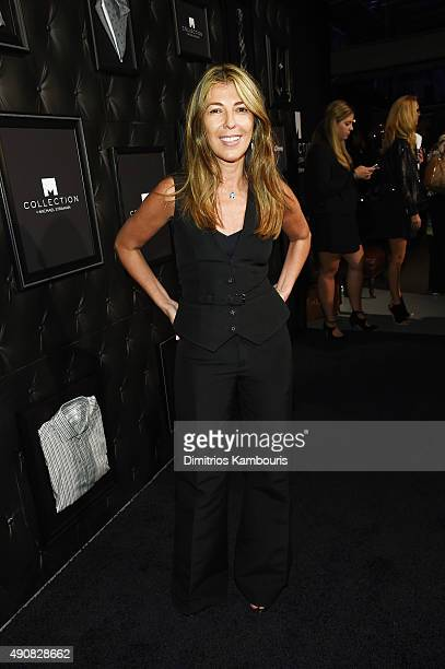 Journalist Nina Garcia attends JCPenney and Michael Strahan's launch of Collection by Michael Strahan on September 30 2015 in New York City