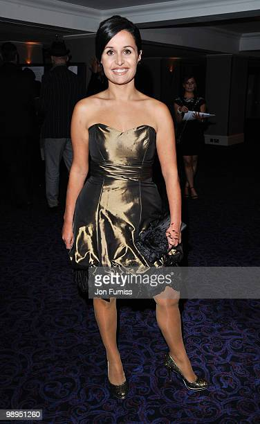 Journalist Nina Hossain attends the Sony Radio Academy Awards held at The Grosvenor House Hotel on May 10 2010 in London England