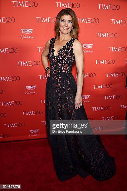 Journalist Norah O'Donnell attends 2016 Time 100 Gala Time's Most Influential People In The World red carpet at Jazz At Lincoln Center at the Times...