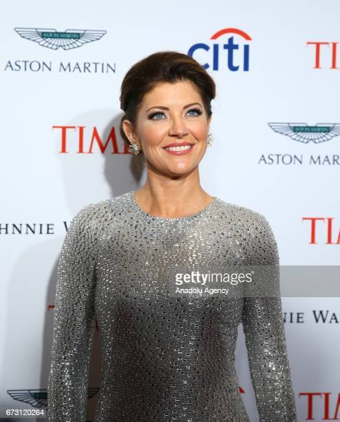 Journalist Norah O'Donnell attends the 2017 TIME 100 Gala at Jazz at Lincoln Center in New York United States on April 25 2017