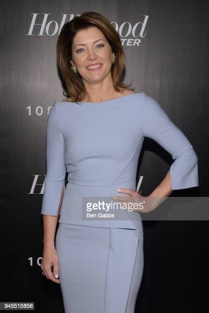 Journalist Norah O'Donnell attends The Hollywood Reporter's Most Powerful People In Media 2018 at The Pool on April 12 2018 in New York City