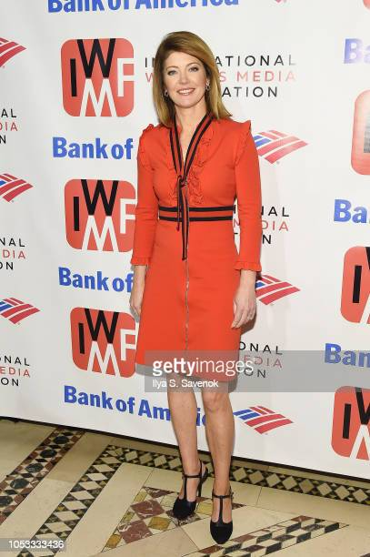 Journalist Norah O'Donnell attends the International Women's Media Foundation's 2018 Courage in Journalism Awards at Cipriani 42nd Street on October...