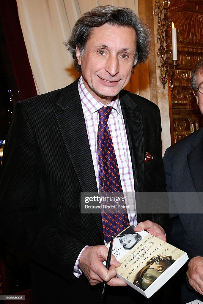 Journalist Patrick de Carolis attends the 37th Writers Cocktail, organized by Circle Maxim's Business Club in Fairs Fouquet's, on November 27, 2014 in Paris, France.