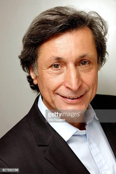 Journalist Patrick de Carolis Photographed in PARIS