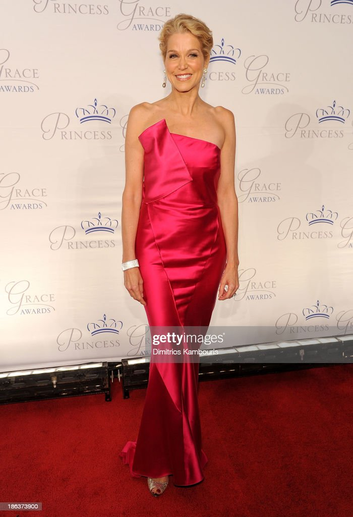 Journalist Paula Zahn attends the 2013 Princess Grace Awards Gala at Cipriani 42nd Street on October 30, 2013 in New York City.