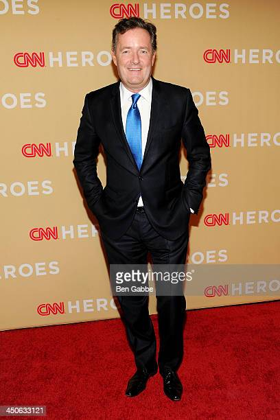 Journalist Piers Morgan attends the 2013 CNN Heroes at the American Museum of Natural History on November 19, 2013 in New York City.