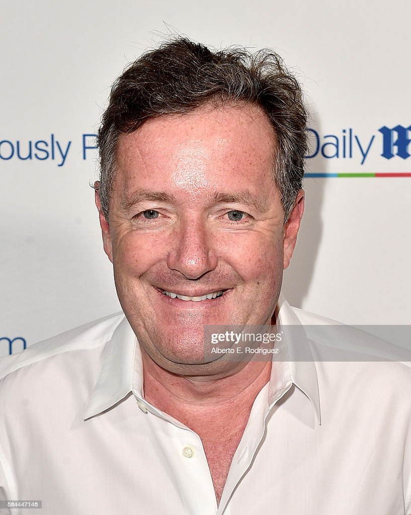 Journalist Piers Morgan attends the Daily Mail Summer White Party with Lisa Vanderpump at Pump on July 27, 2016 in Los Angeles, California.