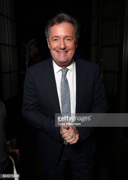 Journalist Piers Morgan attends The Hollywood Reporter 5th Annual Nominees Night at Spago on February 6, 2017 in Beverly Hills, California.