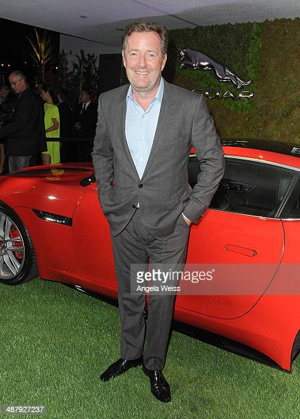 Journalist Piers Morgan attends the Jaguar and BritWeek Event: A Villainous Affair, with the new British villain in town, the 2015 F-TYPE Coupe at...