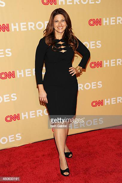 Journalist Rachel Nichols attends the 2013 CNN Heroes at the American Museum of Natural History on November 19 2013 in New York City