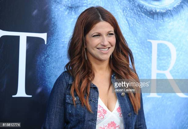 Journalist Rachel Nichols attends the season 7 premiere of Game Of Thrones at Walt Disney Concert Hall on July 12 2017 in Los Angeles California
