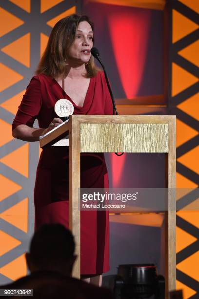 Journalist Renee Montagne accepts the Radio/Podcast award on behalf of 'Lost Mothers Maternal Mortality in the US' on stage during The 77th Annual...