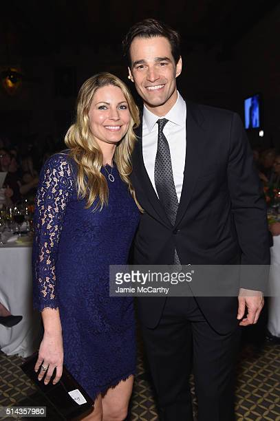 Journalist Rob Marciano and wife Eryn Marciano attend the New York Notables Gathering at the Best Friends Animal Society Benefit to Save Them All on...
