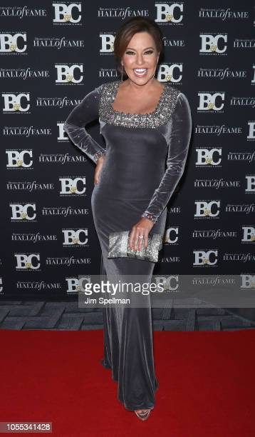Journalist Robin Meade attends the 28th Annual Broadcasting and Cable Hall of Fame Awards at The Ziegfeld Ballroom on October 29 2018 in New York City