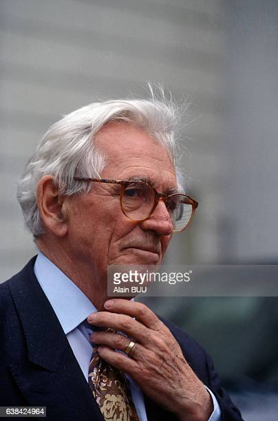 Journalist Roland Leroy in Paris France on May 3 1993