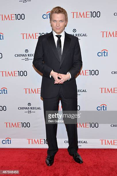 Journalist Ronan Farrow attends the TIME 100 Gala TIME's 100 most influential people in the world at Jazz at Lincoln Center on April 29 2014 in New...