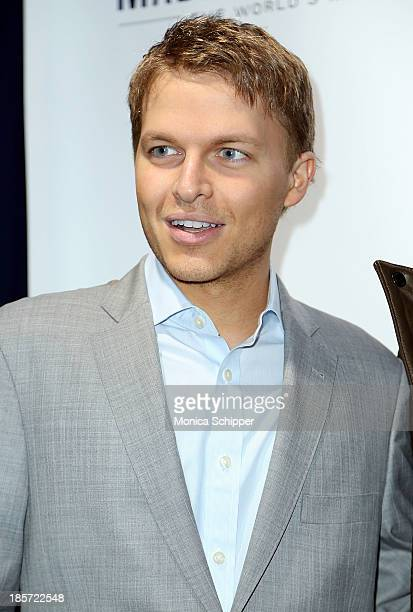 Journalist Ronan Farrow attends the unveiling of Madison Square Garden on October 24 2013 in New York City