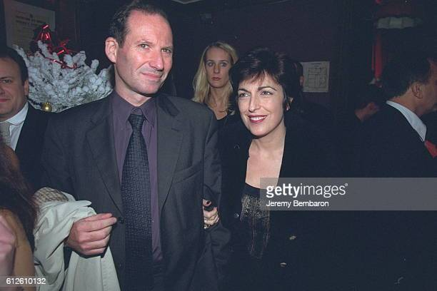 Journalist Ruth Elkrief with her husband Claude