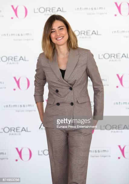 Journalist Sandra Barneda attends the presentation of 'Poder Femenino' By YO DONA on November 16 2017 in Madrid Spain