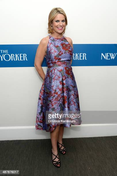 Journalist Savannah Guthrie attends the White House Correspondents' Dinner Weekend PreParty hosted by The New Yorker's David Remnick at the W Hotel...