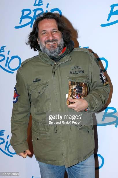 Journalist Simon Liberati attends the 'Le Brio' movie Premiere at Cinema Gaumont Opera Capucines on November 21 2017 in Paris France