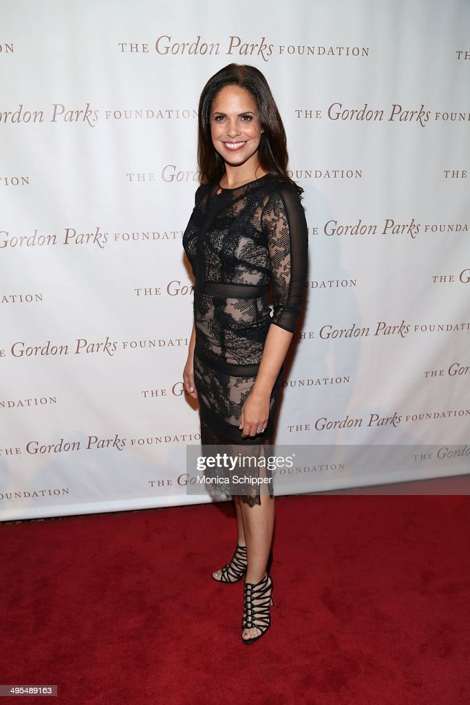Journalist Soledad O'Brien attends 2014 Gordon Parks Foundation awards dinner at Cipriani Wall Street on June 3, 2014 in New York City.