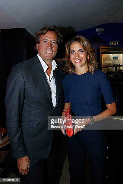 Sonia mabrouk photos et images de collection getty images - Sonia mabrouk son mari ...