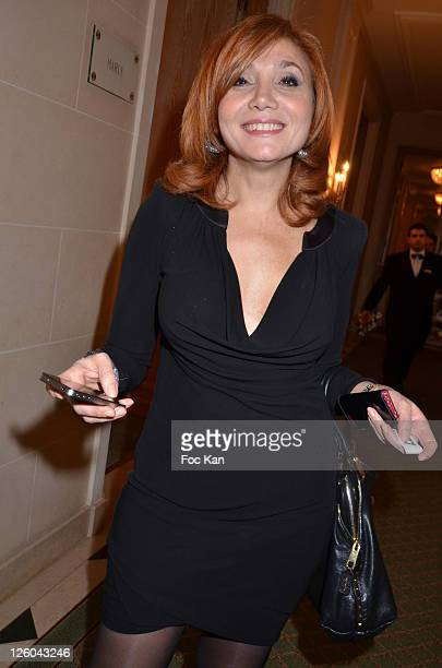 Journalist Sonita Nader attends the 'Charity Event For Children in Haiti' hosted by the CIRA at the Hotel Bristol on January 5 2011 in Paris France
