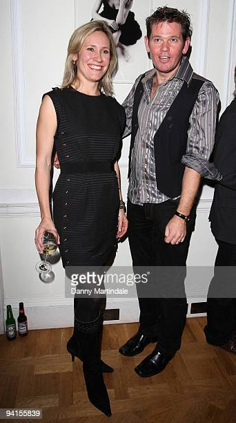 Journalist Sophie Raworth and Cambridge Jones attend a book launch for Cambridge Jones hoested by The Prince's Trust at Home House on December 8 2009...
