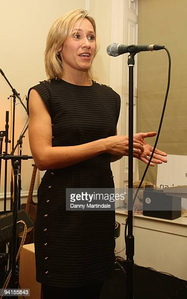 Journalist Sophie Raworth attends a book launch for Cambridge Jones hoested by The Prince's Trust at Home House on December 8 2009 in London England