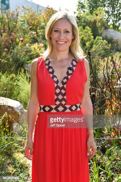Journalist Sophie Raworth attends the Chelsea Flower Show 2018 on May 21 2018 in London England