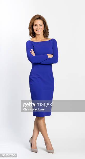Journalist Stephanie Ruhle is photographed for New Jersey Monthly on October 11 2017 in New York City PUBLISHED IMAGE ON EMBARGO UNITL APRIL 1 2018