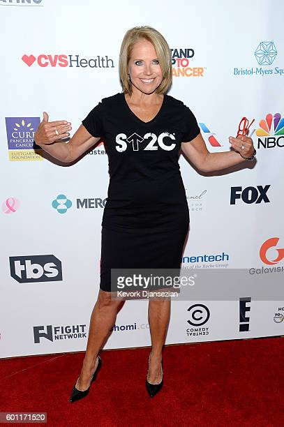 Journalist / SU2C CoFounder Katie Couric attends Hollywood Unites for the 5th Biennial Stand Up To Cancer A Program of The Entertainment Industry...