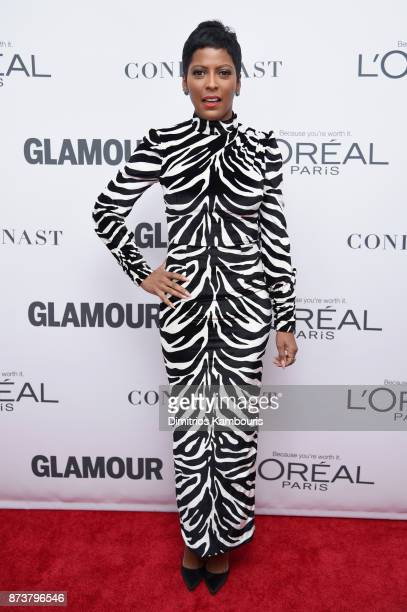 Journalist Tamron Hall attends Glamour's 2017 Women of The Year Awards at Kings Theatre on November 13 2017 in Brooklyn New York