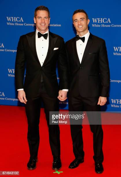 Journalist Thomas Roberts Patrick Abner attend the 2017 White House Correspondents' Association Dinner at Washington Hilton on April 29 2017 in...