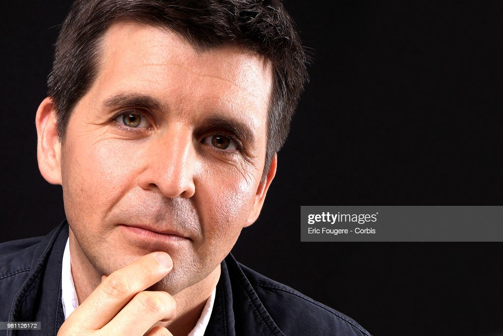 Journalist Thomas Sotto Poses During A Portrait Session In Paris Nachrichtenfoto Getty Images