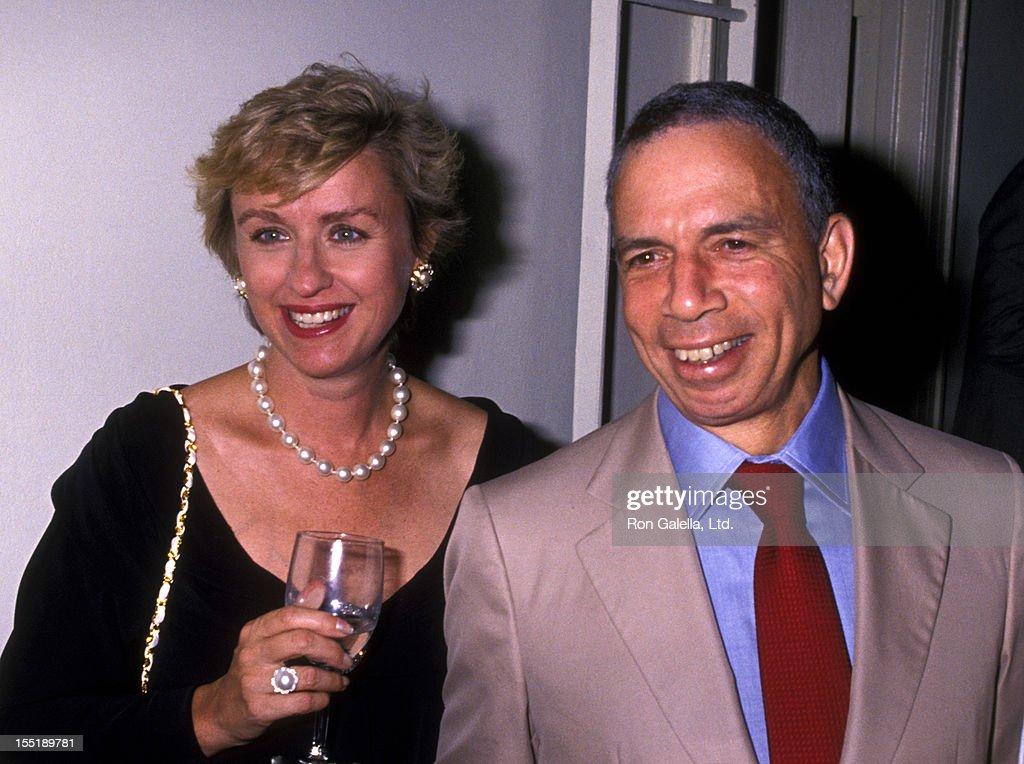 Journalist Tina Brown and S.I. Newhouse attend the book party for Bob Colacello 'Holy Terror: Andy Warhol Close Up' on August 8, 1990 at the Factory in New York City.