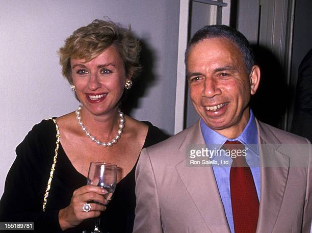 Journalist Tina Brown and SI Newhouse attend the book party for Bob Colacello Holy Terror Andy Warhol Close Up on August 8 1990 at the Factory in New...