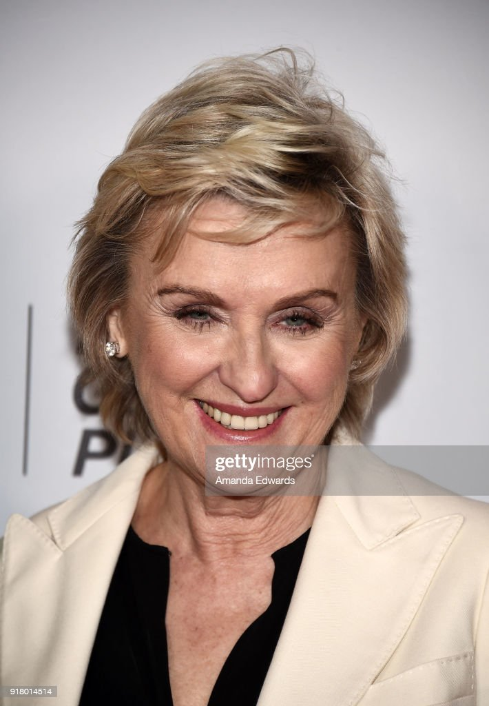 Journalist Tina Brown arrives at the 2018 Women In The World Los Angeles Salon at NeueHouse Hollywood on February 13, 2018 in Los Angeles, California.