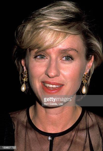 Journalist Tina Brown attend the performance party for Richard III on June 9 1992 at the Brooklyn Academy of Music in New York City