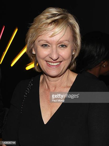 Journalist Tina Brown attends Google Hollywood Reporter Host an Evening Celebrating The White House Correspondents' Weekend on April 27 2012 in...