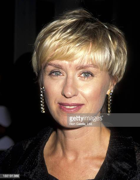 Journalist Tina Brown attends Sixth Annual New York Shakespeare Festival on September 18 1995 at the Manhattan Center in New York City