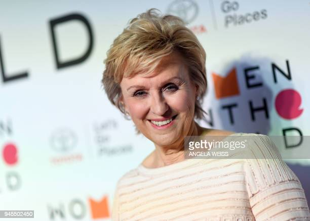 Journalist Tina Brown attends the 2018 Women In The World Summit at Lincoln Center on April 12 2018 in New York City / AFP PHOTO / ANGELA WEISS