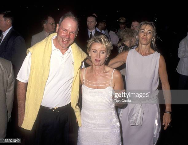Journalist Tina Brown attends the launch party for Talk Magazine on August 2 1999 at Liberty Island in New York City