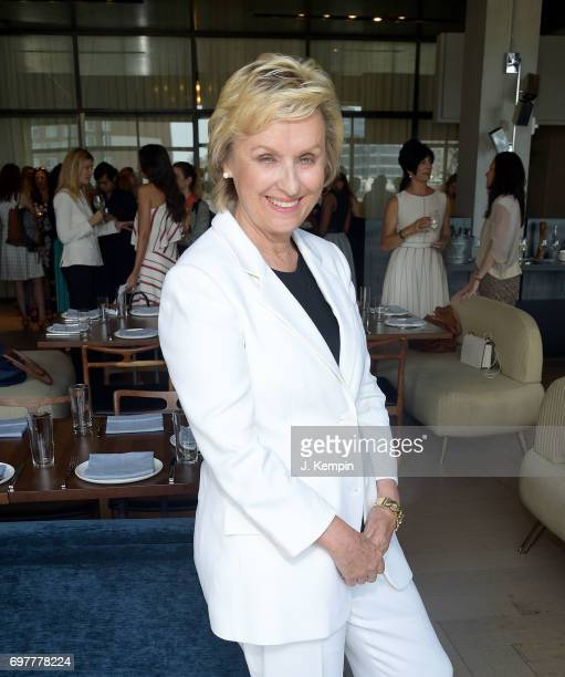 Journalist Tina Brown attends the VIP Lunch In Honor Of Travelzoo at Spring Place on June 19 2017 in New York City Travelzoo is the only publicly...